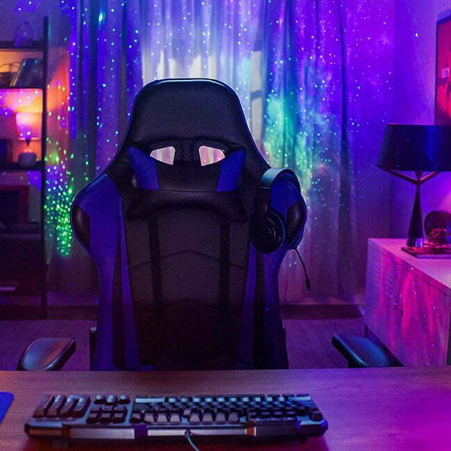 gaming room lights ideas